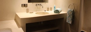 Solid Surf House - Morocco - Superior room - bathroom