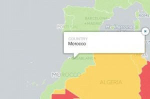 Solid Surf House - Morocco - safest country - travel - map