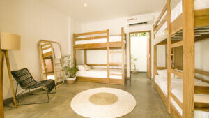 Твердый дом для серфинга Шри-Ланка Общий номер с отдельной ванной комнатой